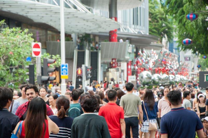 新加坡- DEC 25 免版税库存照片