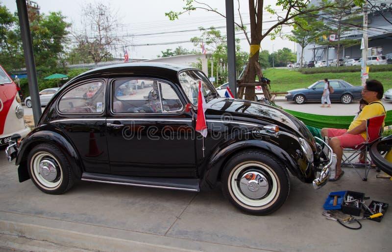 新加坡VW所有者在泰国加入俱乐部会议 图库摄影