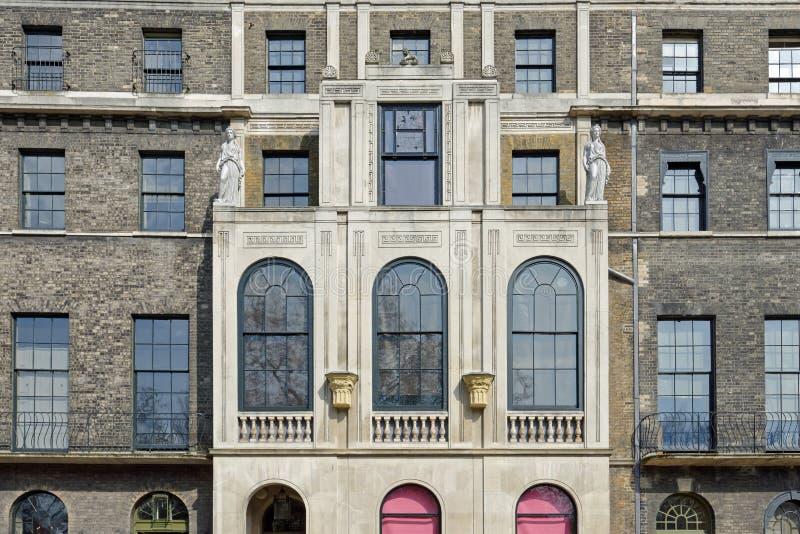 新古典主义的大厦 库存照片