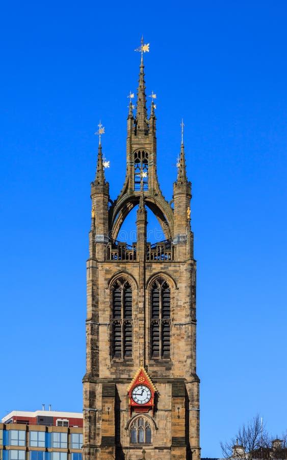 新堡大教堂 库存图片