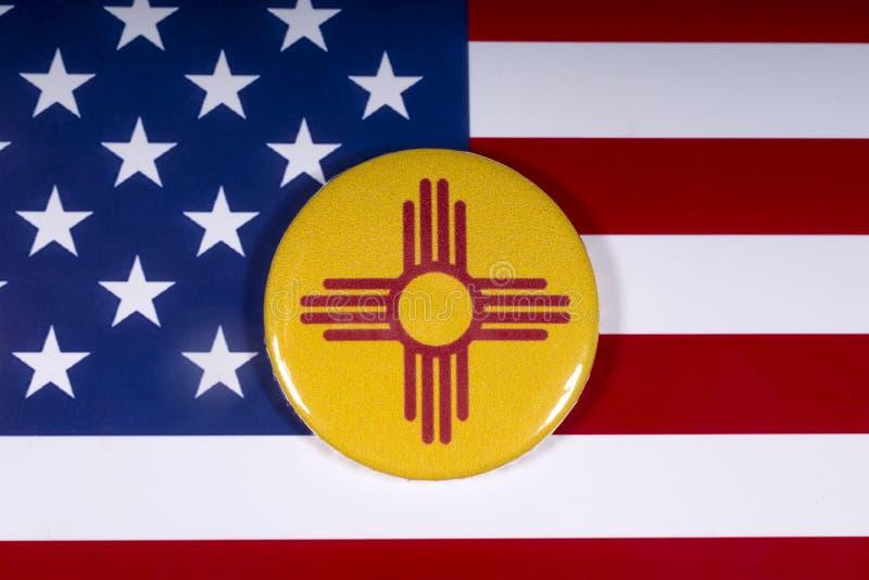 新墨西哥州在美国 库存照片