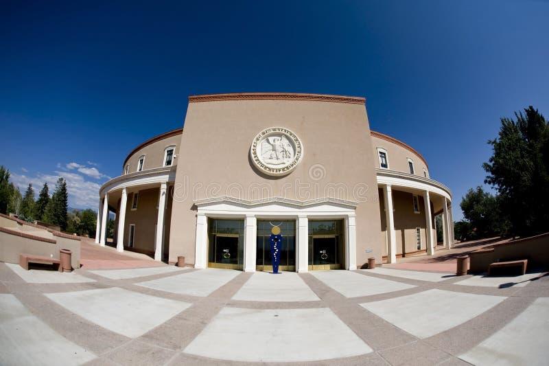 新墨西哥的国家资本。 免版税库存图片