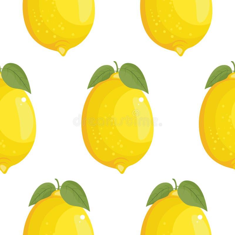 新大柠檬背景,手拉的象 五颜六色的背景 皇族释放例证