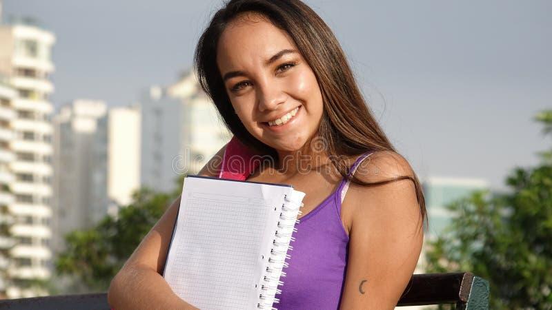 新女学生 免版税库存图片
