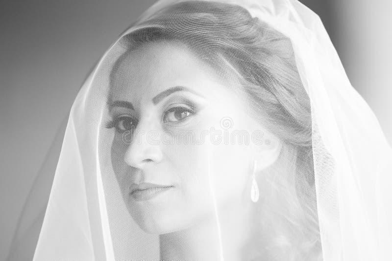 新娘为婚姻做准备 库存图片