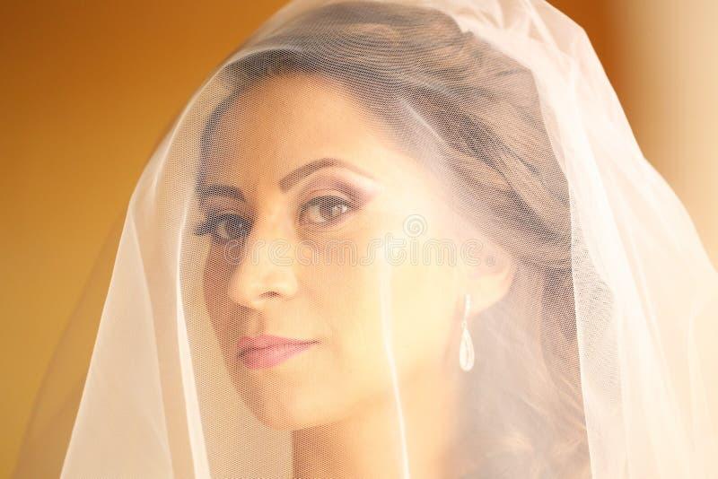 新娘为婚姻做准备 图库摄影