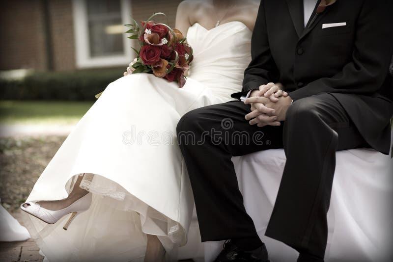 新娘仪式新郎婚礼 库存照片
