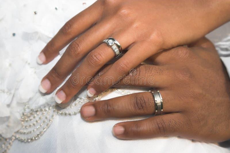 新娘夫妇现有量 免版税库存图片
