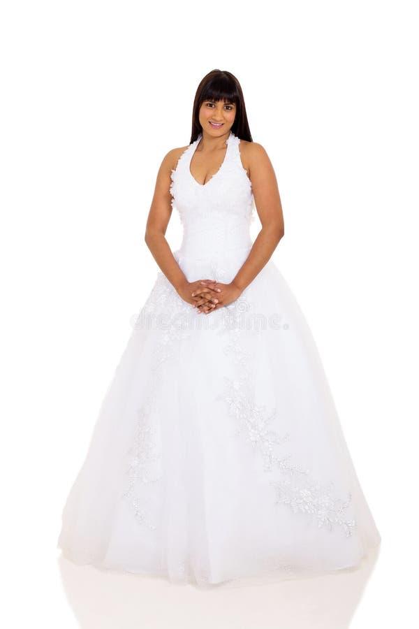 新娘婚礼礼服 免版税库存图片