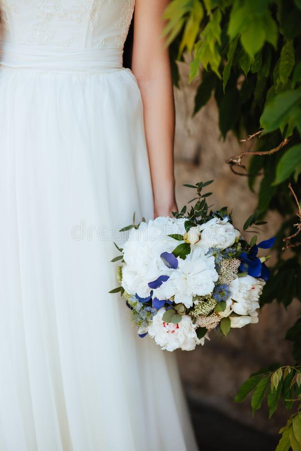 新娘婚礼花束 库存照片