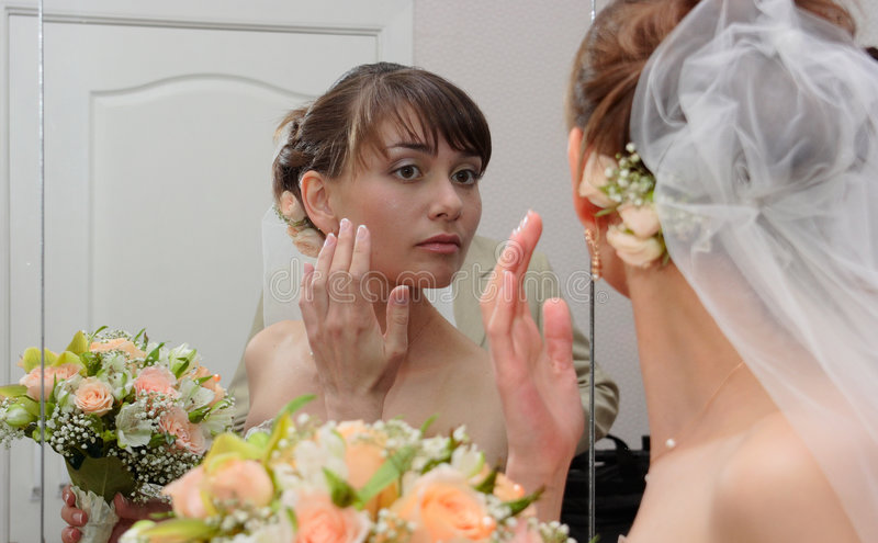 新娘宫殿婚礼 免版税库存照片