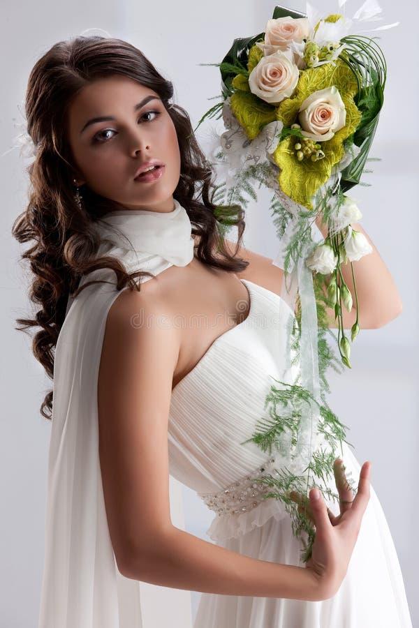 新娘年轻人 免版税库存图片