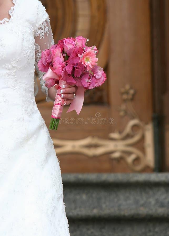 新娘开花藏品 免版税库存照片