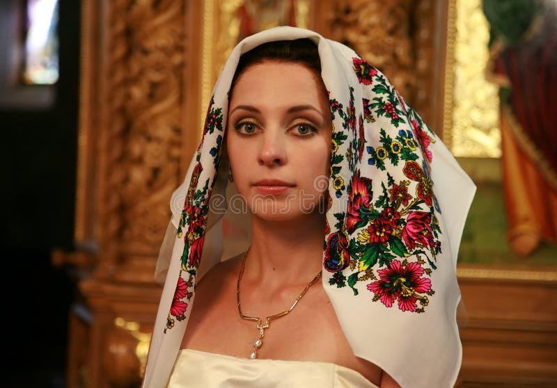 新娘教会 免版税库存照片