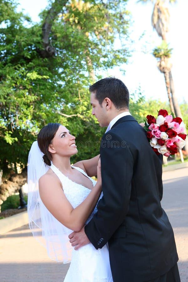 新娘新郎婚礼 库存照片