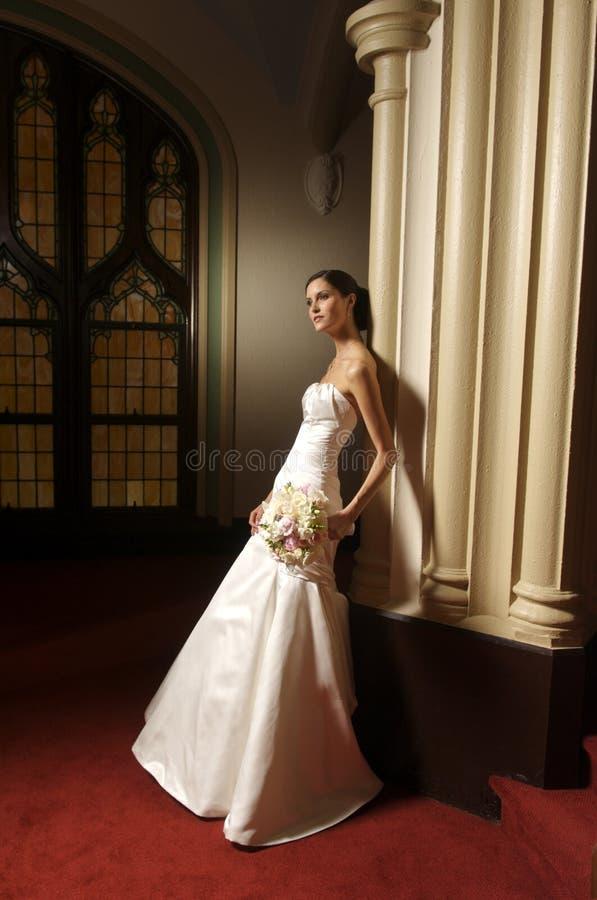 新娘方式纵向 免版税库存图片