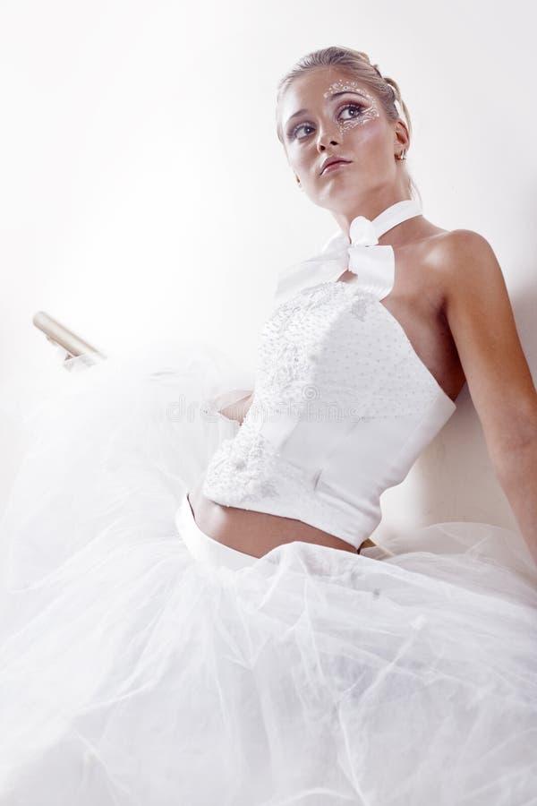 新娘方式 免版税库存照片