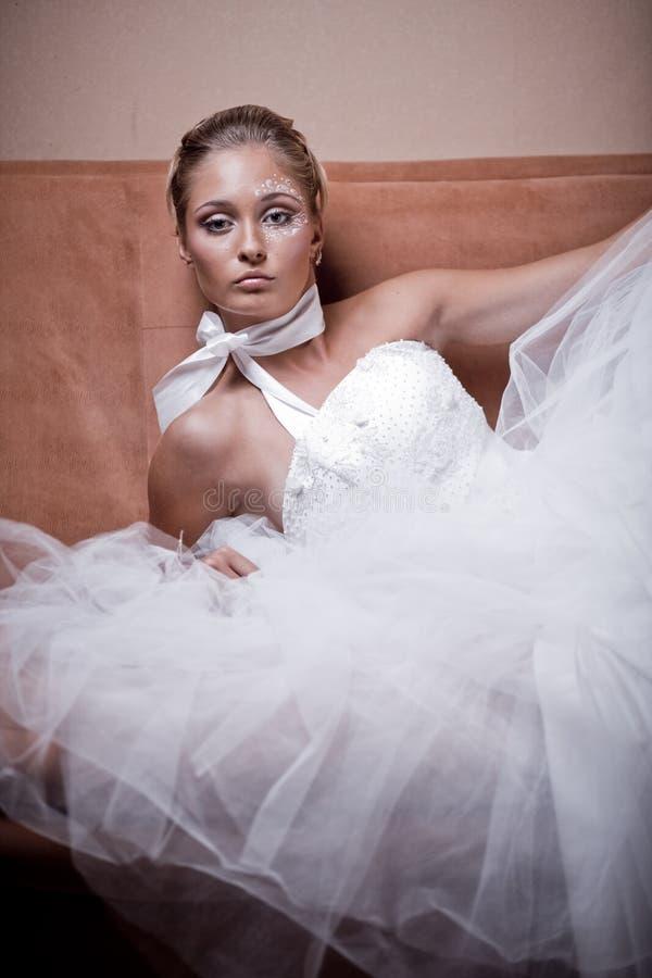 新娘方式 库存照片