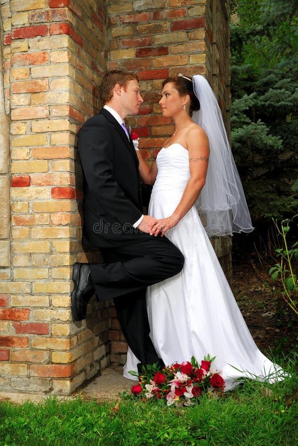 新娘查找爱 库存照片
