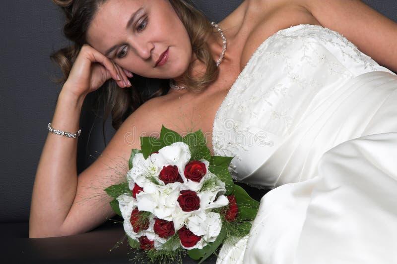 新娘梦想 免版税库存图片