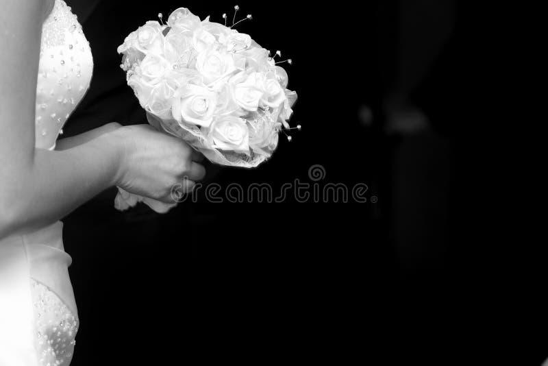 新娘的忧虑 免版税图库摄影