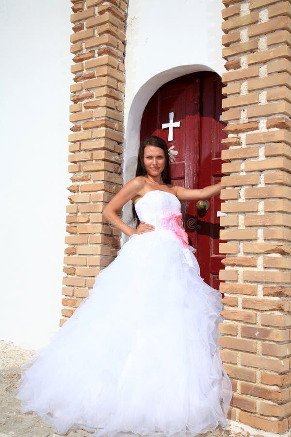 新娘的纵向 库存图片