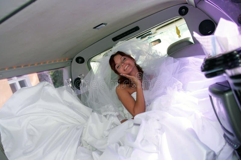 新娘礼服婚礼白色 免版税图库摄影