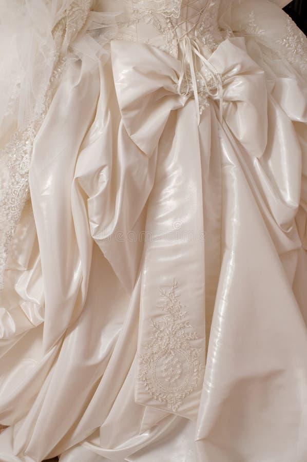新娘礼服婚礼 免版税图库摄影
