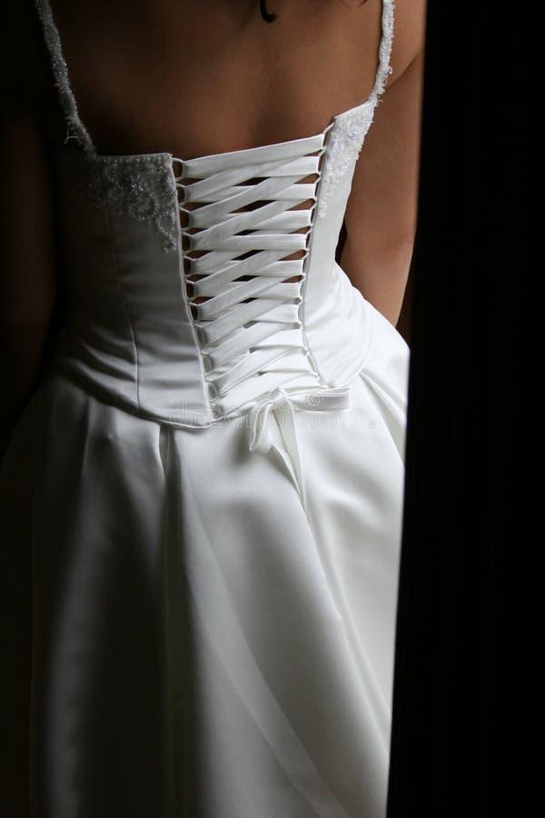 新娘礼服 免版税库存图片