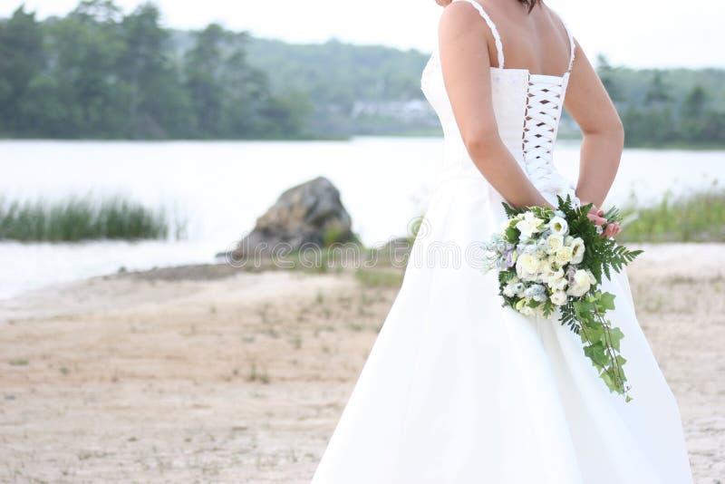 新娘等待 库存图片