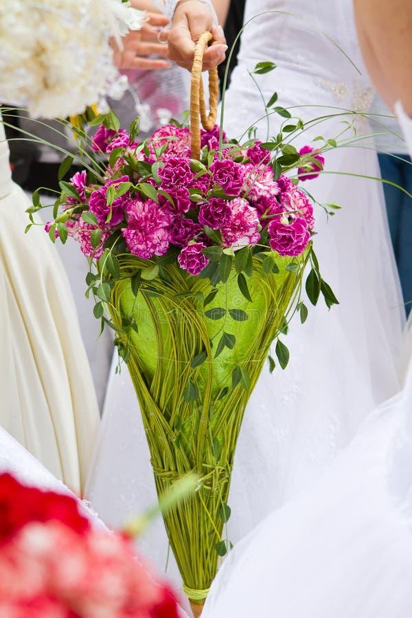 新娘花束 免版税图库摄影