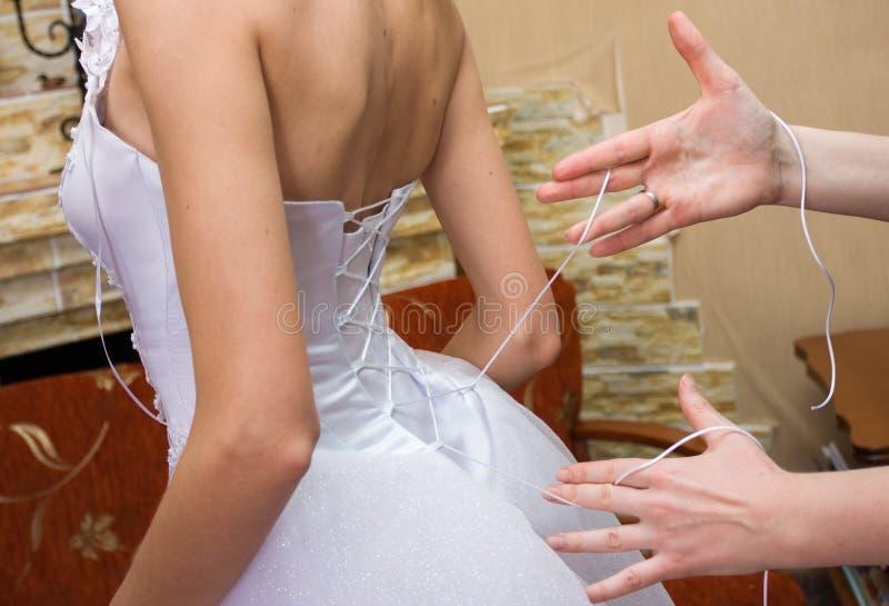 新娘选矿 免版税库存图片