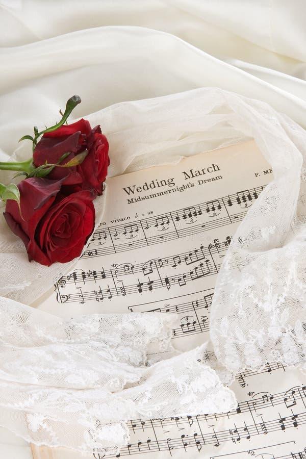 新娘音乐 库存图片