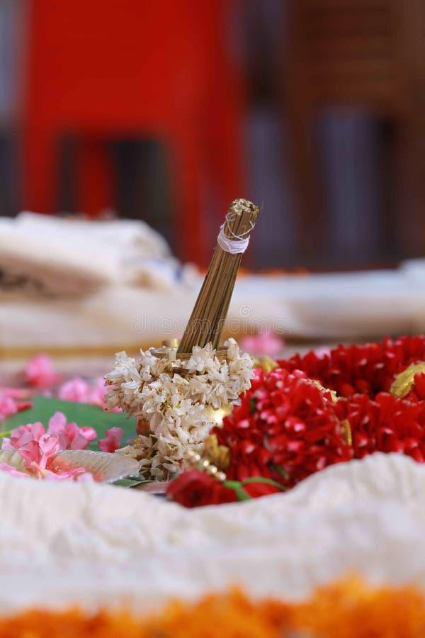 新娘仪式花婚礼 免版税库存图片