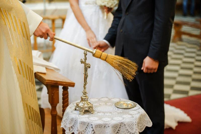 新娘仪式花婚礼 库存照片