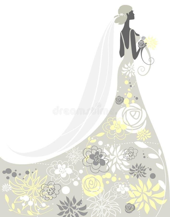 新娘 向量例证