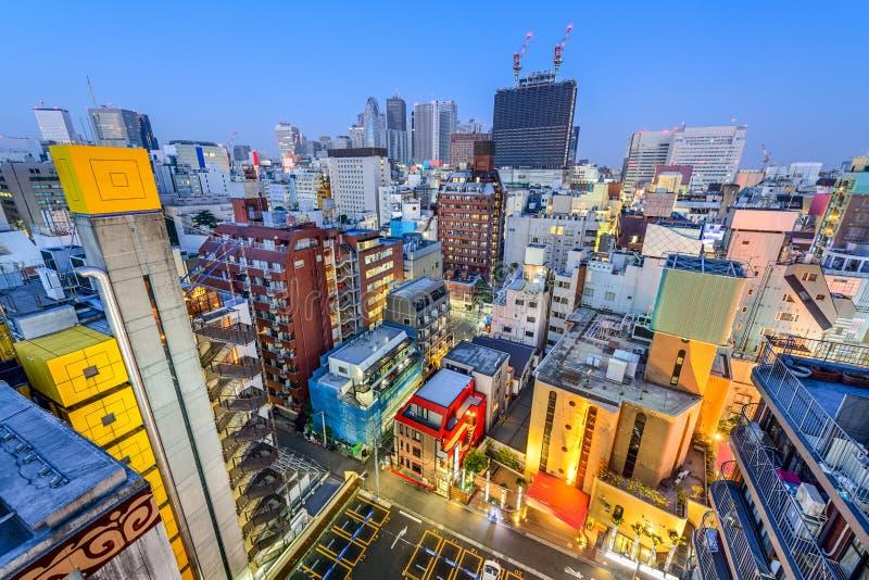 新宿都市风景 免版税库存图片