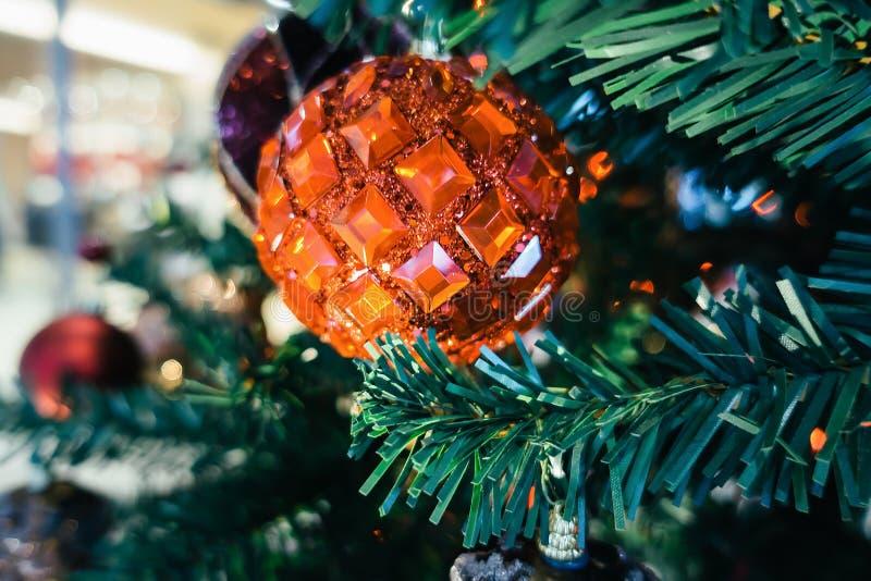 新年和圣诞节背景 免版税库存图片
