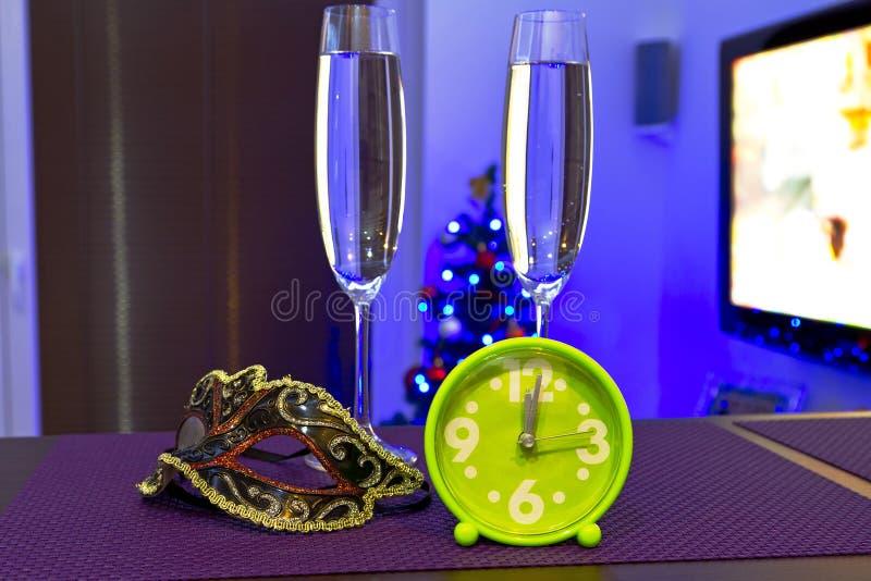 新年好庆祝 免版税库存图片