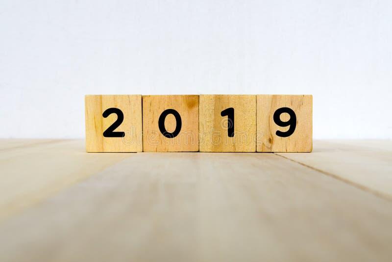 2019新年概念 免版税图库摄影