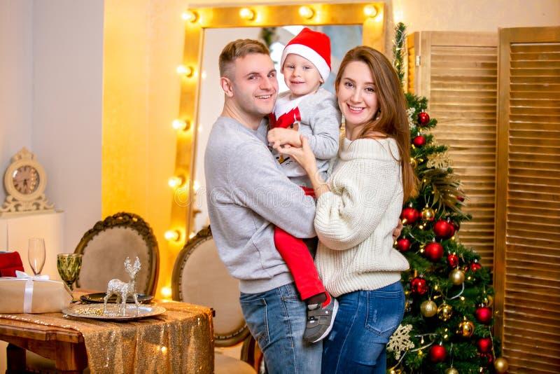 新年的和圣诞节题材 库存图片