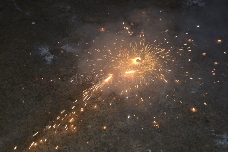 新年计时斯里兰卡 库存照片
