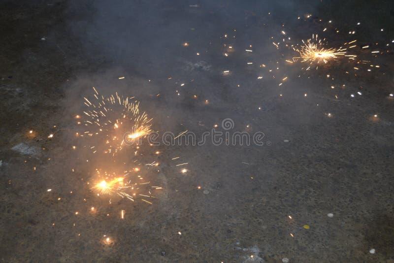 新年计时斯里兰卡 免版税库存照片