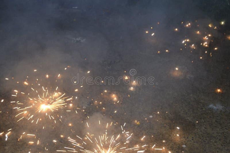 新年计时斯里兰卡 库存图片