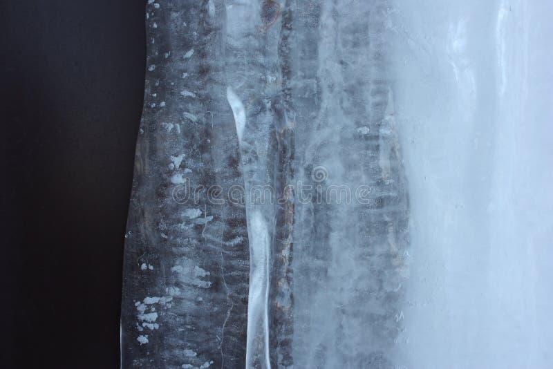 新年` s伊芙 冰河 您的照片 免版税库存照片
