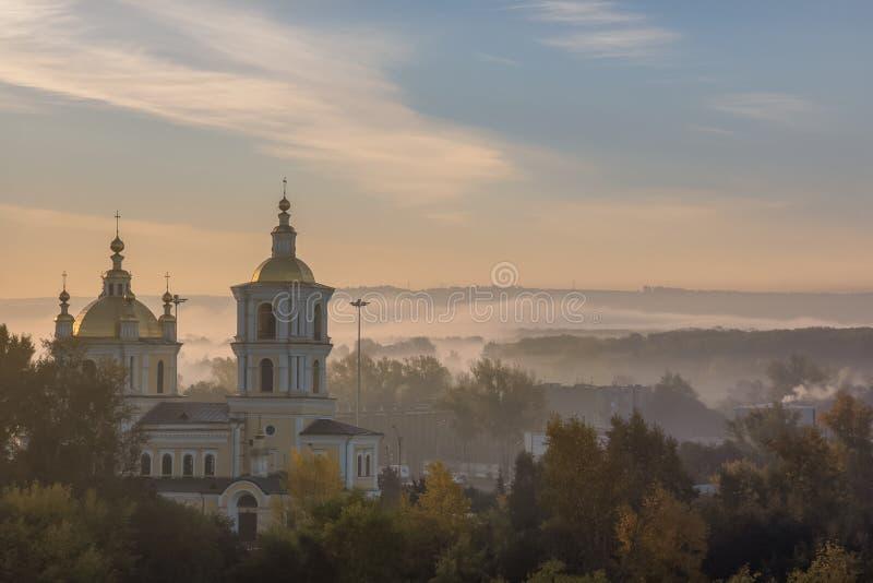 新库兹涅茨克,克麦罗沃地区,俄罗斯联邦- 09/21/2018 : 免版税库存图片