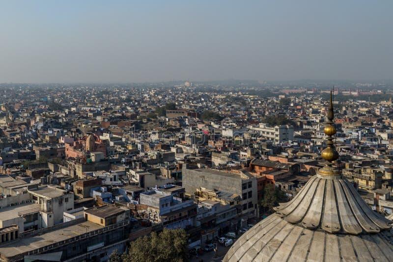 新德里屋顶 免版税库存图片