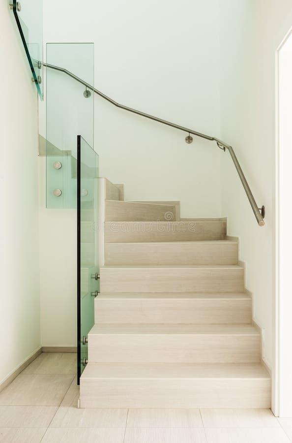 新房,楼梯 库存图片
