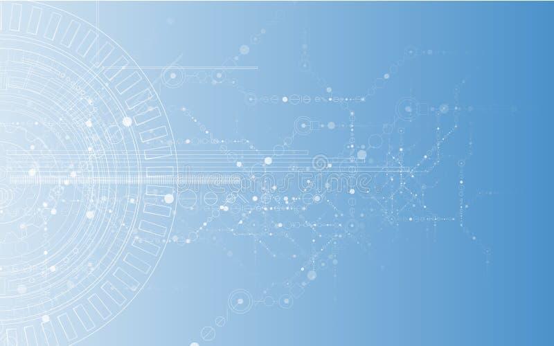 新技术企业背景 向量例证