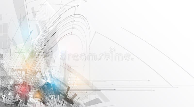 新技术公司业务&发展的概念 向量例证